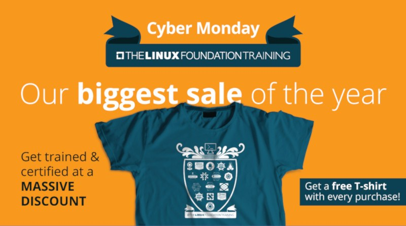 Linux foundation black friday/Cyber monday offer