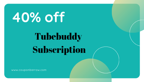 tubebuddy coupon
