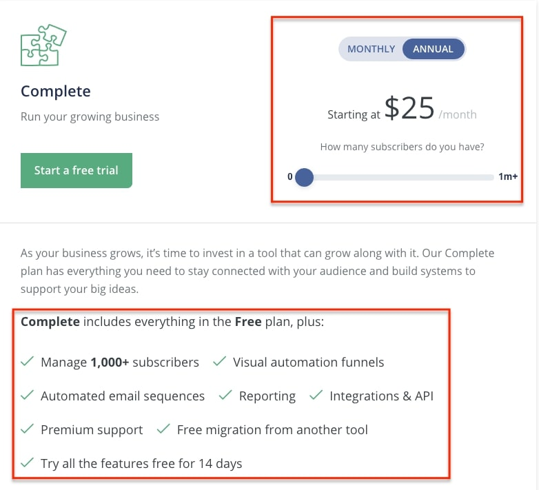 convertkit discount for annual plan