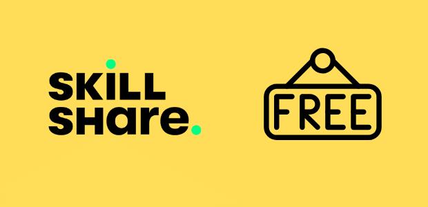 get skillshare free