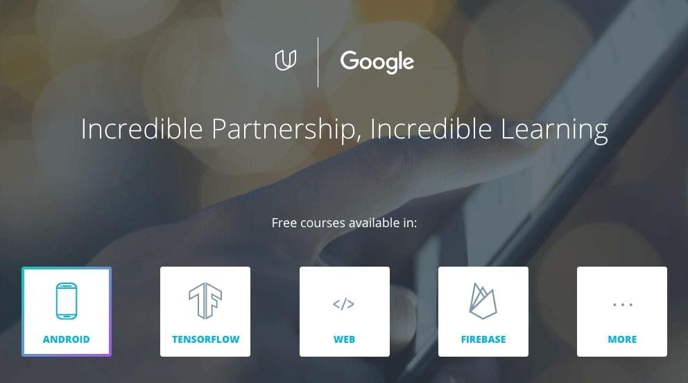 udacity google courses