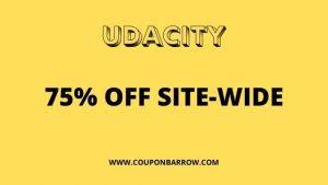 UDACITY 75% OFF