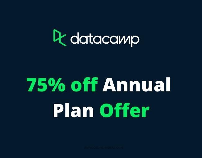 datacamp free coupon