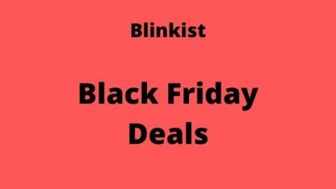 blinkist black friday